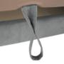 Kép 4/32 - LEGAS Sarokülőgarnitúra ágyfunkcióval - szürke,  jobbos
