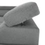 Kép 11/32 - LEGAS Sarokülőgarnitúra ágyfunkcióval - szürke,  jobbos