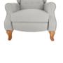Kép 22/30 - ARMIN Pozícionáló fotel bézs/anyag/fa,  Pozícionáló fotel bézs/anyag/fa