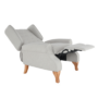 Kép 23/30 - ARMIN Pozícionáló fotel bézs/anyag/fa,  Pozícionáló fotel bézs/anyag/fa