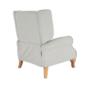 Kép 28/30 - ARMIN Pozícionáló fotel bézs/anyag/fa,  Pozícionáló fotel bézs/anyag/fa