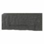 Kép 26/29 - LEMON U alakú ülőgarnitúra - ekobőr fekete/anyag világosszürke,  jobb [U]