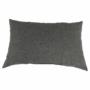 Kép 24/29 - LEMON U alakú ülőgarnitúra - fekete textilbőr/világos szürke szövet,  balos [U]