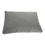 Kép 13/25 - ALMA Elegáns szövetborítású U-alakú sarokülőgarnitúra,  jobb oldali kivitel,fekete textilbőr