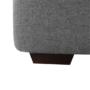 Kép 14/15 - BORN Szövetborítású luxus ülőgarnitúra - állítható fejtámlákkal - balos,  szövet Cablo 14 szürke