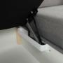 Kép 18/31 - BORN Szövetborítású luxus ülőgarnitúra - állítható fejtámlákkal - balos,  szövet