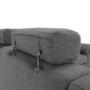Kép 21/31 - BORN Szövetborítású luxus ülőgarnitúra - állítható fejtámlákkal - balos,  szövet