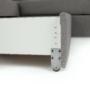 Kép 29/31 - BORN Szövetborítású luxus ülőgarnitúra - állítható fejtámlákkal - balos,  szövet Cablo 14 szürke