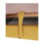 Kép 11/32 - FABIA Szövetborítású sarokgarnitúra - ágyfunkcióval - ágyneműtartóval - állítható fejtámlával - balos kivitel,  Soro 40 mustársárga