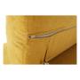 Kép 32/32 - FABIA Szövetborítású sarokgarnitúra - ágyfunkcióval - ágyneműtartóval - állítható fejtámlával - jobbos kivitel,  Soro 40 mustársárga
