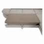Kép 23/30 -  Szövetborítású sarokgarnitúra - ágyfunkcióval - ágyneműtartóval - állítható fejtámlával - jobbos kivitel [FABIA]