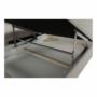 Kép 29/30 -  Szövetborítású sarokgarnitúra - ágyfunkcióval - ágyneműtartóval - állítható fejtámlával - jobbos kivitel [FABIA]