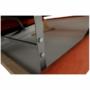 Kép 8/35 - LEGAS Szövetborítású sarokgarnitúra - ágyfunkcióval - ágyneműtartóval - állítható fejtámlával - jobbos kivitel,  Orinoco 51 terrakotta