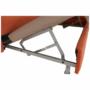 Kép 11/35 - LEGAS Szövetborítású sarokgarnitúra - ágyfunkcióval - ágyneműtartóval - állítható fejtámlával - jobbos kivitel,  Orinoco 51 terrakotta