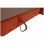 Kép 17/35 - LEGAS Szövetborítású sarokgarnitúra - ágyfunkcióval - ágyneműtartóval - állítható fejtámlával - jobbos kivitel,  Orinoco 51 terrakotta
