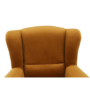 Kép 2/11 - CHARLOT Füles fotel,  szövet mustár