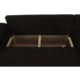 Kép 4/19 - DALAS Ülőgarnitúra,  barna anyagból készült