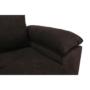 Kép 5/19 - DALAS Ülőgarnitúra,  barna anyagból készült