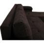 Kép 6/19 - DALAS Ülőgarnitúra,  barna anyagból készült