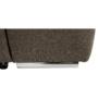Kép 3/26 - SEGORIA Ülőgarnitúra - szövet szürke-barna Taupe,  jobbos [LUX]