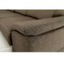 Kép 7/26 - SEGORIA Ülőgarnitúra - szövet szürke-barna Taupe,  jobbos [LUX]