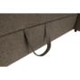 Kép 10/26 - SEGORIA Ülőgarnitúra - szövet szürke-barna Taupe,  jobbos [LUX]