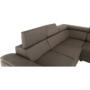 Kép 12/26 - SEGORIA Ülőgarnitúra - szövet szürke-barna Taupe,  jobbos [LUX]