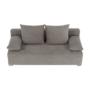 Kép 2/25 - FERIHA Kinyitható kanapé,  szövet szürke-barna taupe