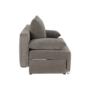 Kép 7/25 - FERIHA Kinyitható kanapé,  szövet szürke-barna taupe