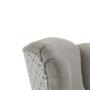 Kép 5/19 - BELEK Dizájnos fotel - szövet,  capuccino/minta