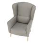 Kép 6/19 - BELEK Dizájnos fotel - szövet,  capuccino/minta