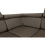 Kép 15/26 - SEGORIA Ülőgarnitúra - szövet szürke-barna Taupe,  balos [LUX]