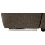 Kép 18/26 - SEGORIA Ülőgarnitúra - szövet szürke-barna Taupe,  balos [LUX]