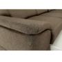 Kép 22/26 - SEGORIA Ülőgarnitúra - szövet szürke-barna Taupe,  balos [LUX]