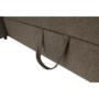 Kép 25/26 - SEGORIA Ülőgarnitúra - szövet szürke-barna Taupe,  balos [LUX]