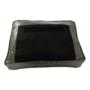 Kép 3/20 - KUMON Dizájnos fotel,  ezüst-szürke/ezüst