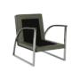 Kép 10/20 - KUMON Dizájnos fotel,  ezüst-szürke/ezüst