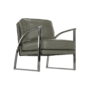 Kép 15/20 - KUMON Dizájnos fotel,  ezüst-szürke/ezüst