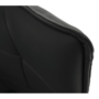 Kép 3/15 - KOMBO Dizájnos fotel,  szürke TAUPE/fekete