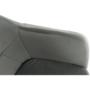 Kép 12/16 - ZERON Fotel,  szövet bársony világosszürke/fekete
