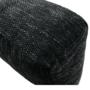 Kép 6/29 - TONIKS Ülőgarnitúra,  fekete/fekete melír