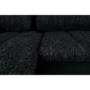 Kép 12/29 - TONIKS Ülőgarnitúra,  fekete/fekete melír