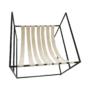 Kép 2/24 - DEKER Modern fotel,  bézs/fekete
