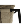 Kép 4/24 - DEKER Modern fotel,  bézs/fekete