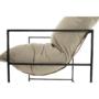 Kép 5/24 - DEKER Modern fotel,  bézs/fekete