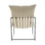 Kép 9/24 - DEKER Modern fotel,  bézs/fekete