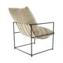 Kép 10/24 - DEKER Modern fotel,  bézs/fekete