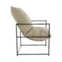 Kép 11/24 - DEKER Modern fotel,  bézs/fekete