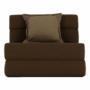 Kép 20/39 - ZAFIR Kinyitható fotel,  barna