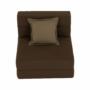 Kép 25/39 - ZAFIR Kinyitható fotel,  barna